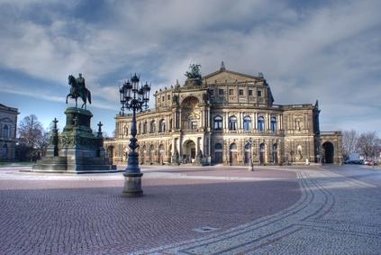 Verschwundene Theater Dresden
