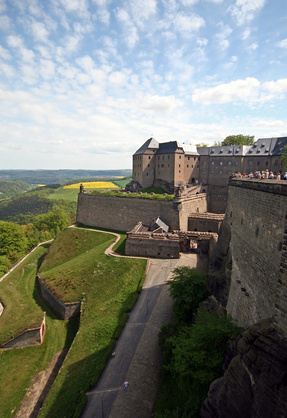 Sächsische Schweiz (Elbsandsteingebirge) / Bastei / Bad Schandau / Festung Königstein